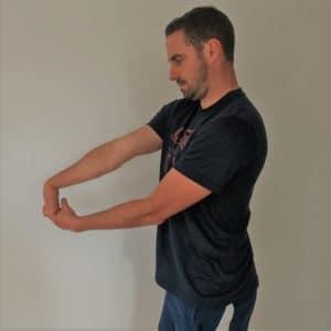 etirement flexion poignet